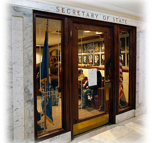 Oklahoma Secretary of State office